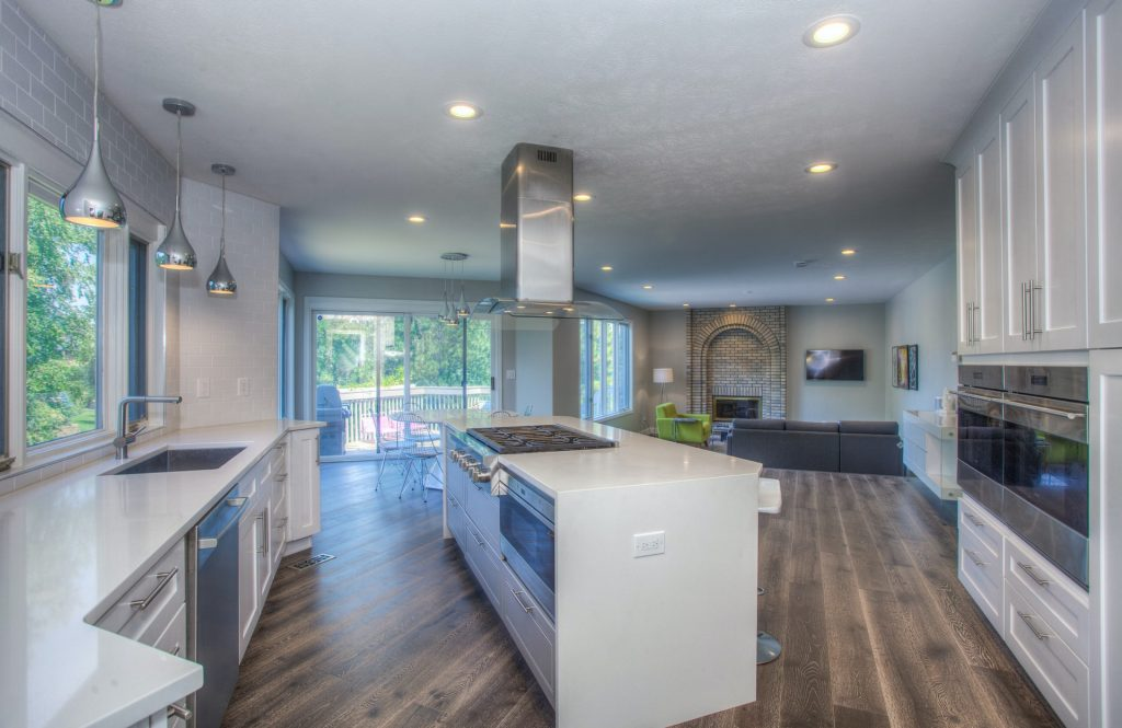 Photo of kitchen remodeling