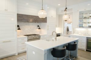 photo of a kitchen remodeled